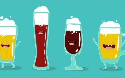 The right glass for the right beer…