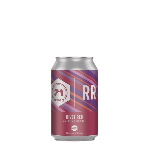 71 Brewing River Red Can 330ml