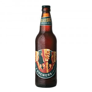 Three Brewers Classic Ale Bottle 500ml