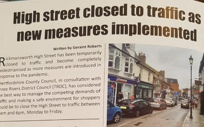 High Street Pedestrianisation Update!