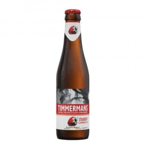 Timmermans Strawberry Bottle 330ml